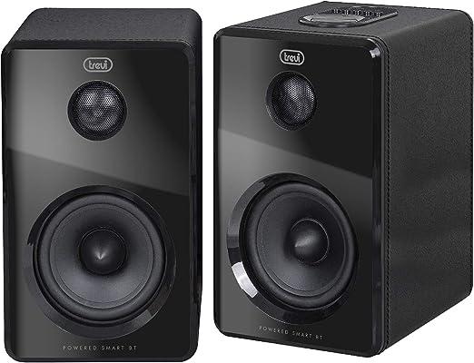 Trevi AVX 570 BT 70W Negro Altavoz - Altavoces (De 2 vías, Inalámbrico, USB/Bluetooth, 70 W, 80-180000 Hz, Negro)