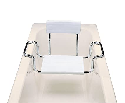 Vasca Da Bagno Con Seduta : Moretti sedile per vasca da bagno in plastica regolabile in