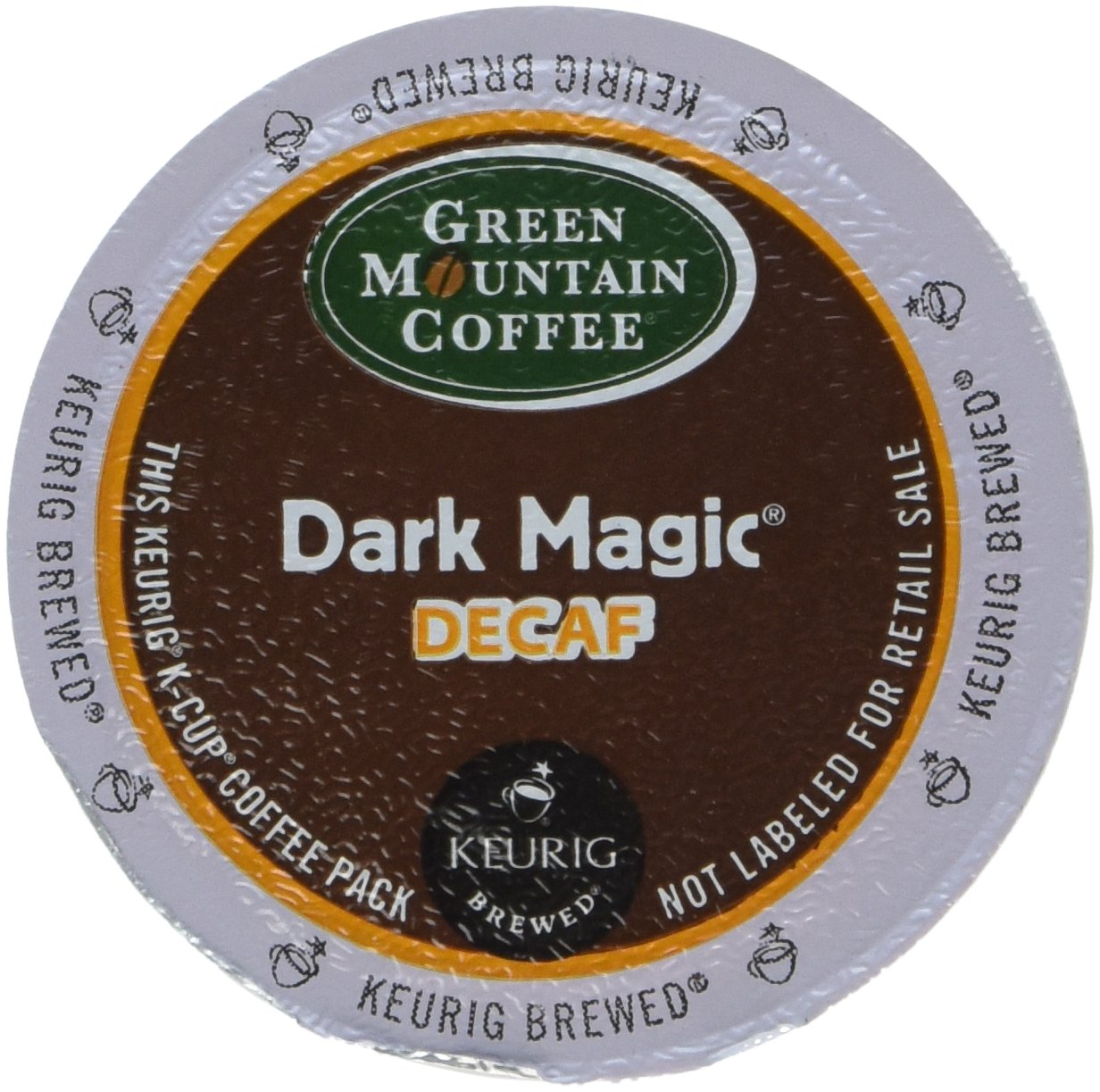 Green Mountain Coffee, Dark Magic Decaf, K-Cup for Keurig Brewers (Pack of 96) by Green Mountain Coffee