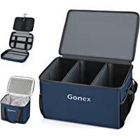 Gonex Collapsible Car Trunk Organizer with Cooler Bag & Tool Pouch