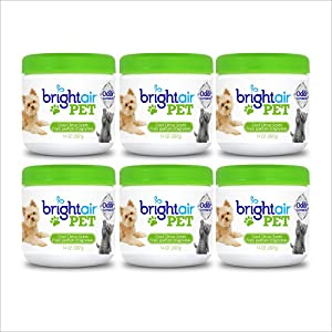 Bright Air Solid Pet Odor Eliminator, Cool Citrus Scent, 14 Oz Each, 6 Pack
