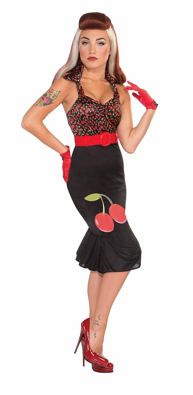 1950s Costumes Forum Retro Rock Cherry Anne Costume Dress  AT vintagedancer.com