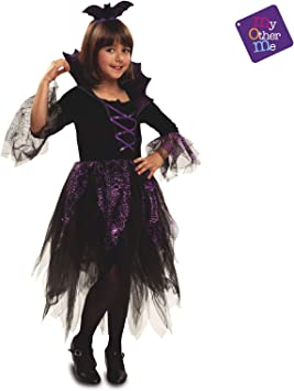 My Other Me - Vampiresa Halloween Vampiresa Disfraz, Multicolor, 7 ...