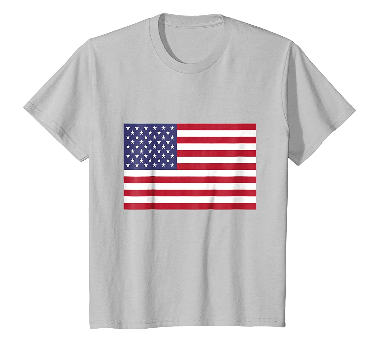 American Flag T shirt-Teechatpro