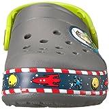 Crocs unisex Crocband FL Buzz Lights Clog K , slate