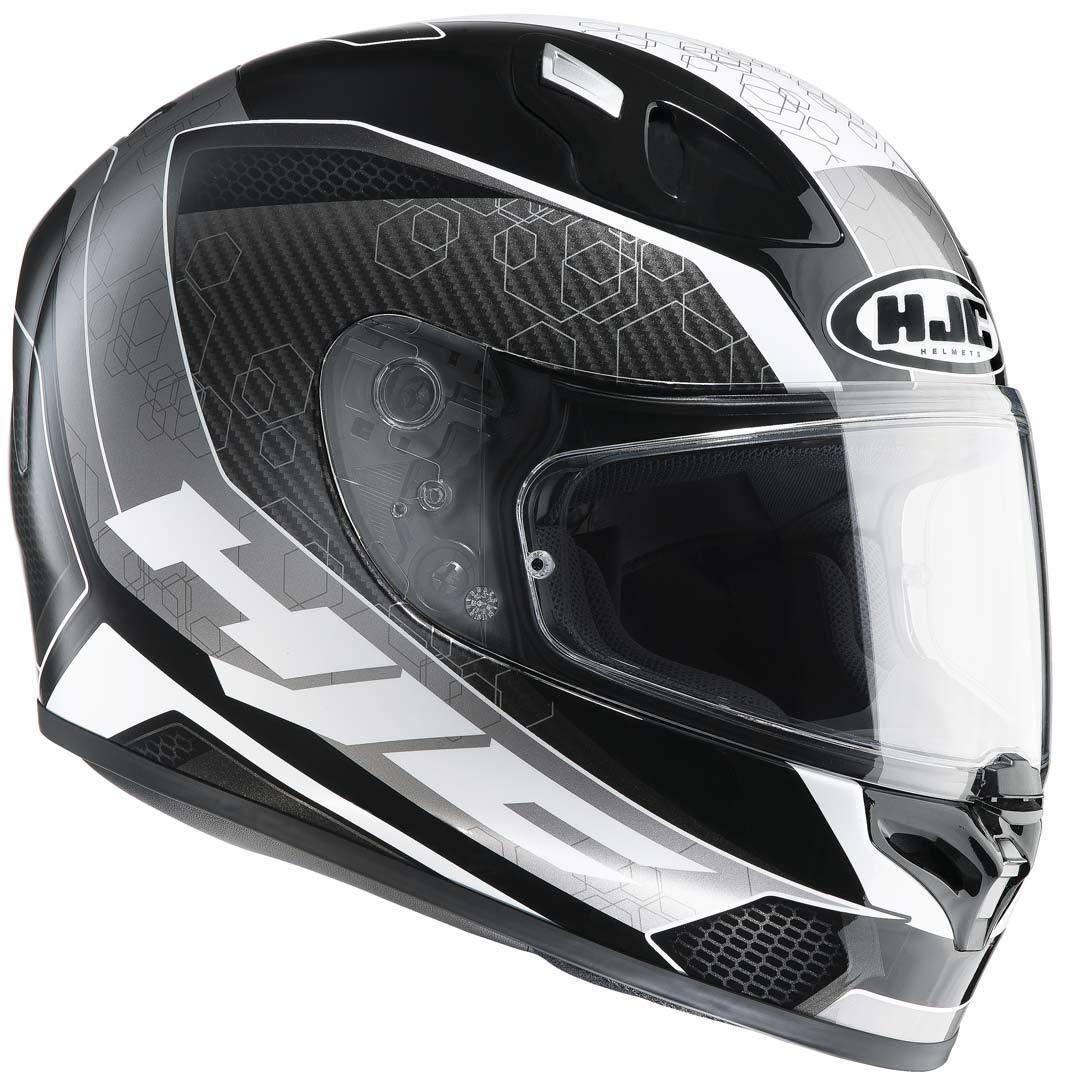 HJC 125701XS Casco Moto Verde//Rosso XS