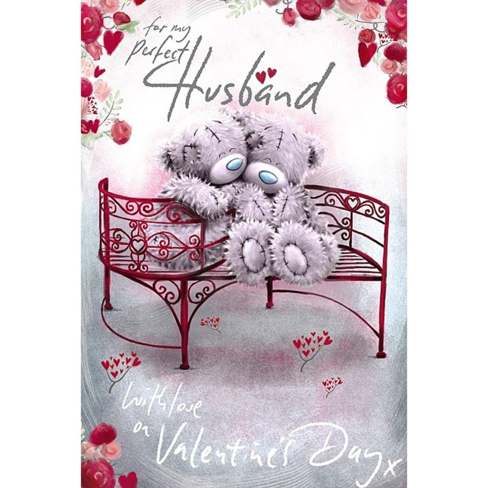 Me To You Perfect Husband Valentines Day Card Tatty Teddy Bear
