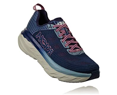 35da9eaec2d8d HOKA ONE ONE Women's Bondi 6 Running Shoe Marlin/Blue Ribbon Size 11 M US