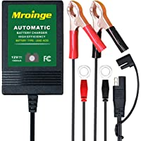 Mroinge MBC010 Automotive Trickle Maintainer 12V 1A Smart Automatic Charger
