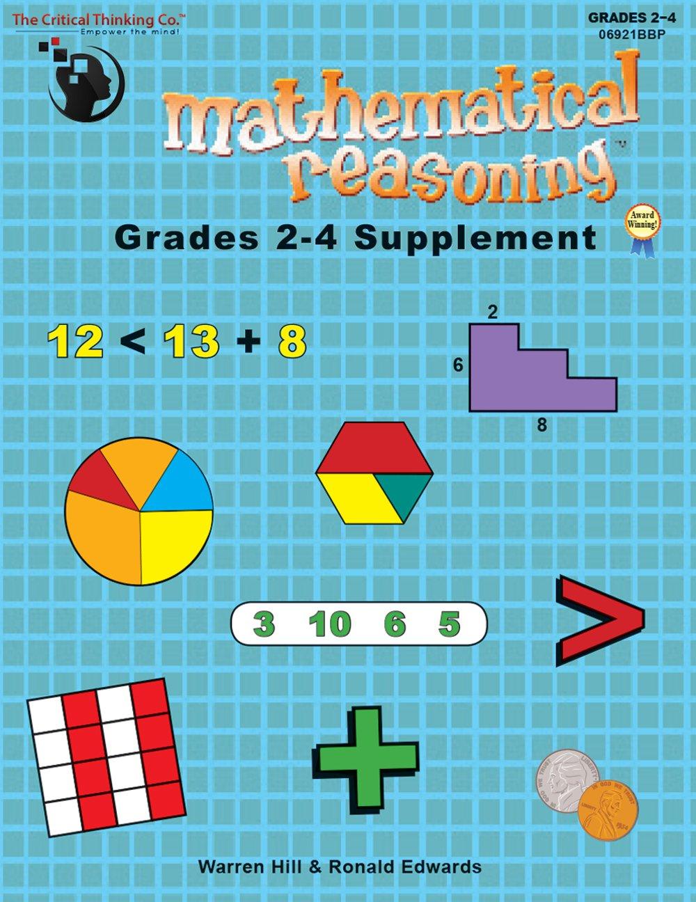 Workbooks developing spatial thinking workbook : Mathematical Reasoning Grades 2-4 Supplement: Warren Hill;Ronald ...