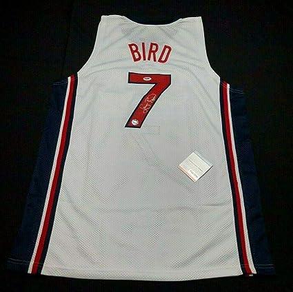 size 40 12b05 879d5 Larry Bird Autographed Jersey - Team USA *Dream Team Z83649 ...
