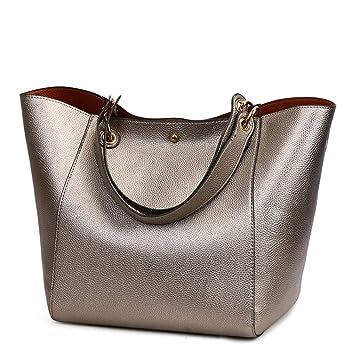 Amazon.com: Chic-Dona - Bolsas de piel para mujer, gran ...