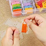 Onwon 100 Pieces Embroidery Thread Cards Cross
