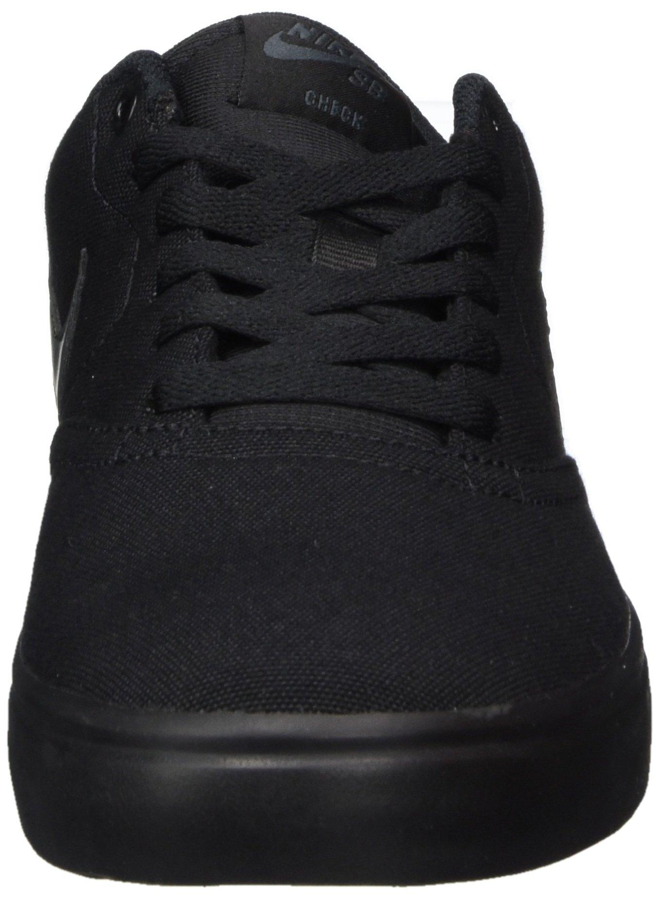 Nike Unisex SB Check Solar CNVS Black/Anthracite Skate Shoe 8.5 Men US / 10 Women US by Nike (Image #4)