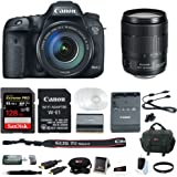 Canon EOS 7D Mark II 18-135mm f/3.5-5.6 IS USM Wi-Fi Adapter Kit + 128GB Bundle