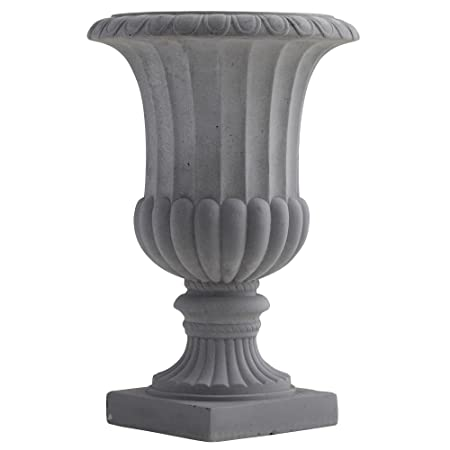 Nearly Natural 7507 Indoor Outdoor Decorative Urn, 16.5-Inch