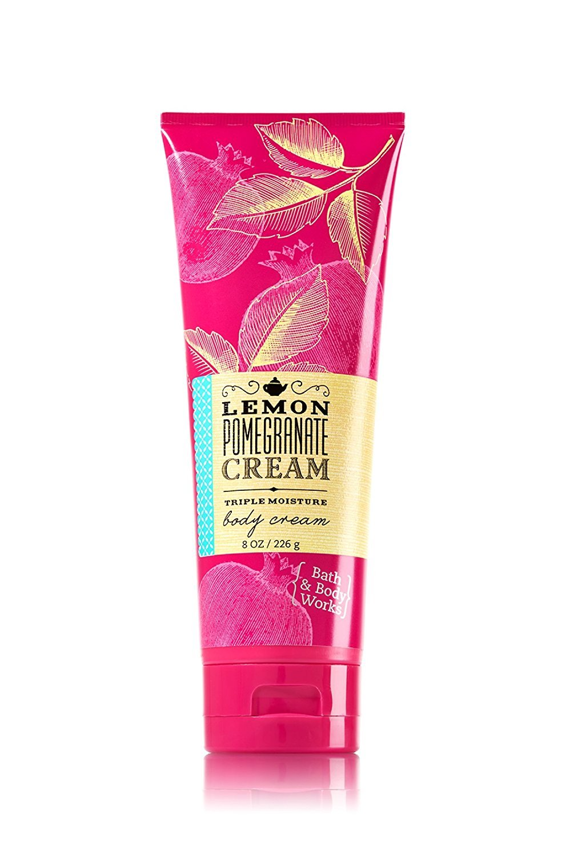 Bath & Body Works Lemon Pomegranate Cream Body Cream 8 Oz.