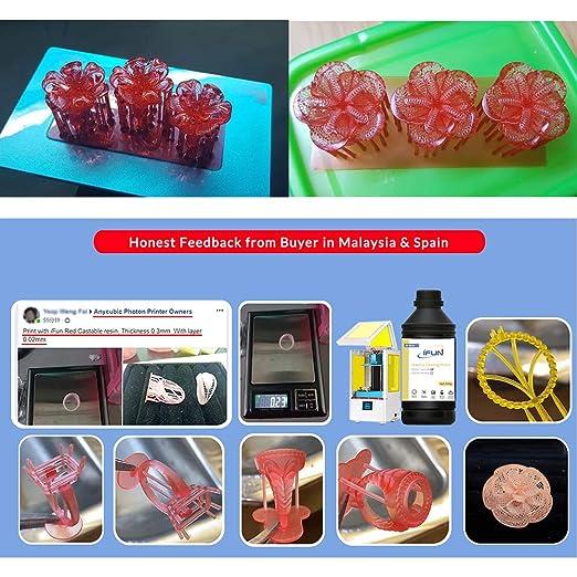 IFUN Jewelry - Resina de fundición para impresora LCD 3D, cera ...