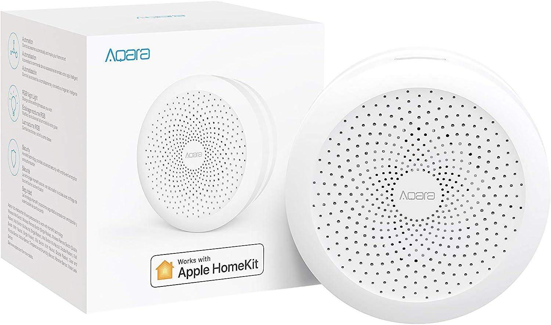 Aqara Hub M1S / Centro de control / Smart Home Center con HomeKit/HomeKit/WiFi/Zigbee 3.0/blanco/EU VERSION