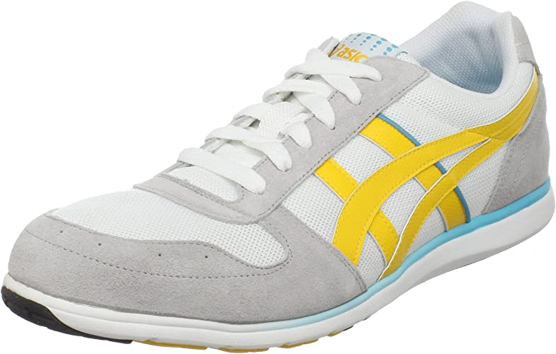 m and m asics trainers