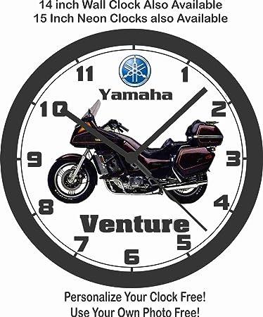 Amazon Com 1983 Yamaha Venture Motorcycle Wall Clock Honda Suzuki