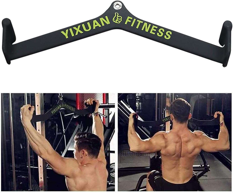 Delaman Barre de Triceps Barre de en Forme de V poign/ée en Acier Durable /équipement de c/âble de Gymnase /à Domicile Tricep