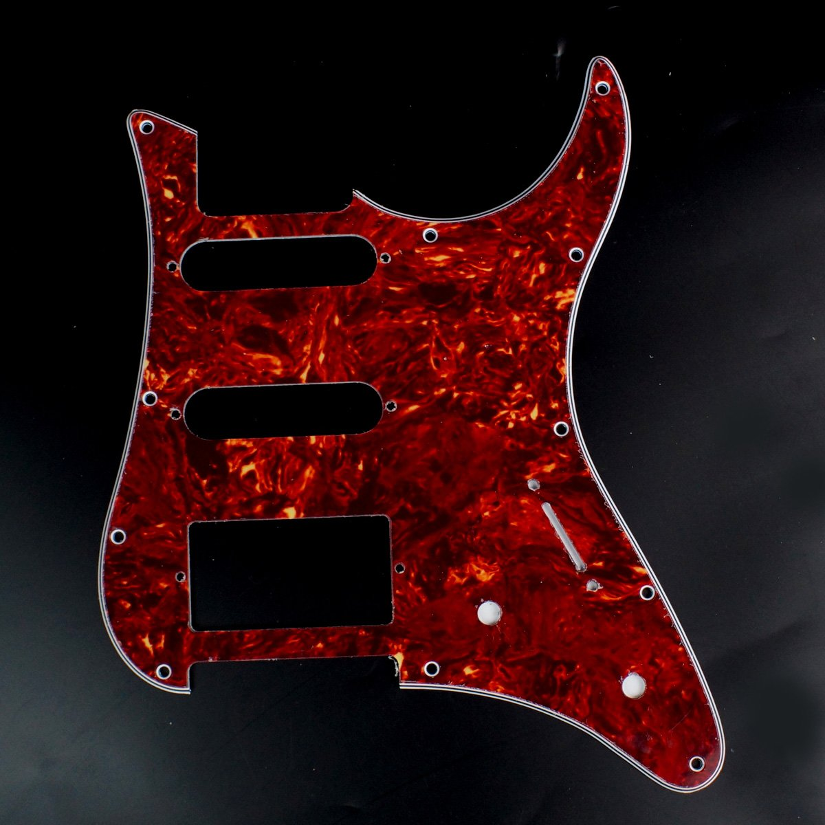 Guitar Pickguard For YAMAHA Pacifica EG 112 PAC112V ,4Ply red tortoise