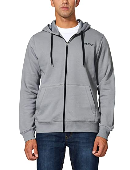 2ea98e2d824 Amazon.com  Baleaf Men s Active Fleece Hoodie Full Zip Sweatshirt ...