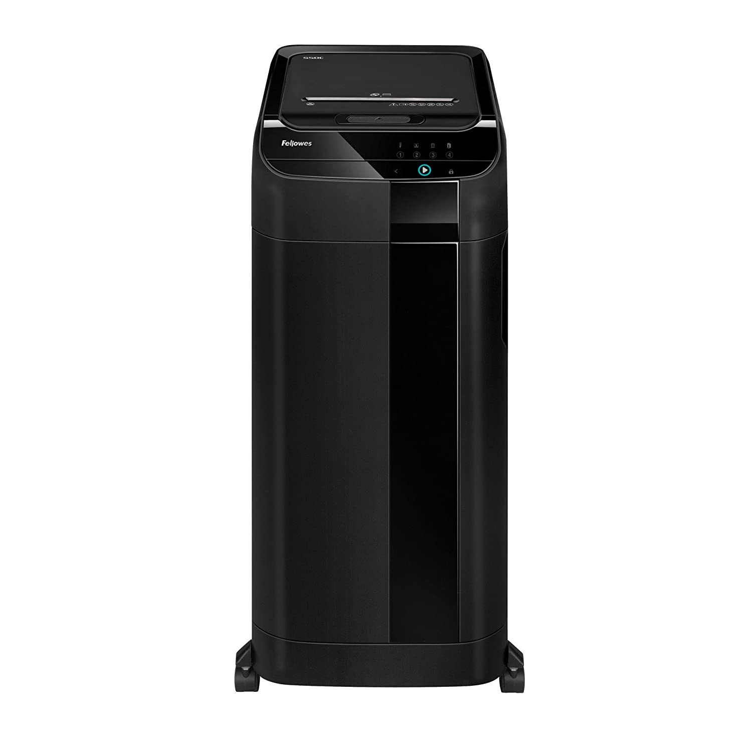 Fellowes AutoMax 550C 550-Sheet Cross-Cut Auto Feed Shredder (4963001)