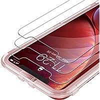 Syncwire Vetro Temperato iPhone XR - iPhone 11 3 Pezzi Pellicola Protettiva Vetrino Salvaschermo per Apple XR [3D Touch] [Alta Trasparente] [Senza Bolle] [Anti-Impronte] [HD] [9H] [Ultra Resistente]