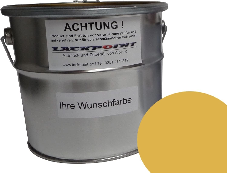 Lackpoint 1 Liter 1k Kunstharz Autolack Ddr Monsungelb Trabant Wartburg Ifa Neu Auto