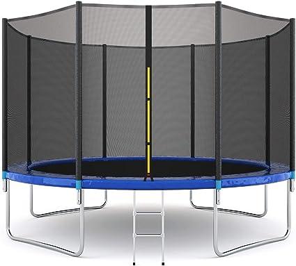 Giantex Gymnastics Trampoline With An Enclosure Net - Runner-Up