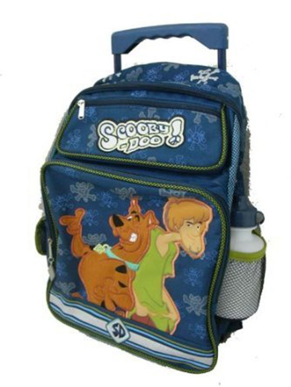 Large Rolling Backpack - Scooby Doo Shaggy New School Book Bag 233754   B0015PFKN6