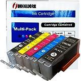 INK4WORK 5 Pack Compatible PGI-270 XL PGI270XL CLI271XL CLI-271XL Ink Cartridge Replacement For PIXMA MG5720 MG5721 MG5722 MG6820 MG6821 MG6822 TS5020 TS6020