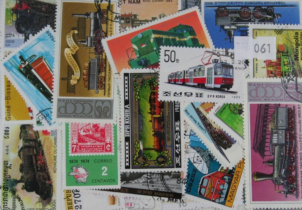 100timbres Trains. (61) Dauwalders