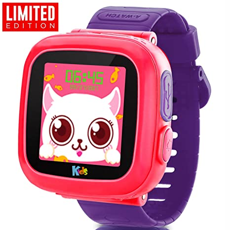 GBD Kids Game Smart Watches [AR Pro Edition] Boys Girls Gift Travel Camping Pedometer Timer Camera Wristwatch Alarm Fitness Tracker Sport Watch Indoor ...