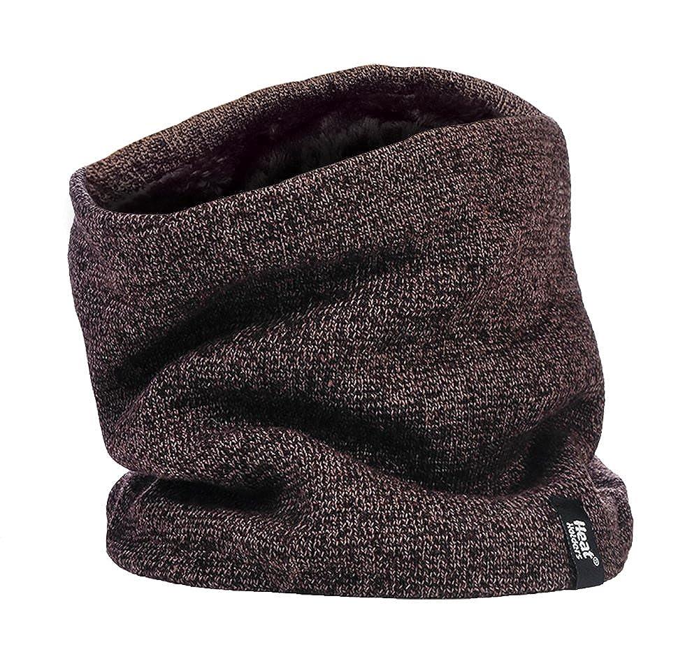 Heat Holders Thermal 2.6 tog Fleece Snood Full Balaclava Neck Warmer Men's Black or Grey