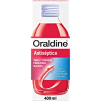 Oraldine Antiséptico, Colutorio De Uso Diario Con Doble Poder Antibacterial, 400 ml