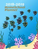 2018-2019 Homeschool Planner: Homeschool Record Keeping,Best Way to Record All Learning Activities, Weekly Assignment Chart, Daily Assignment ..., 123 pages 8.5x11 Inches (Gift) (Volume 1)