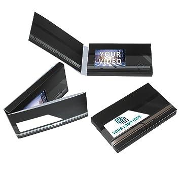 Amazon Mediabk Video Business Card 3 Hd Lcd Screen Black