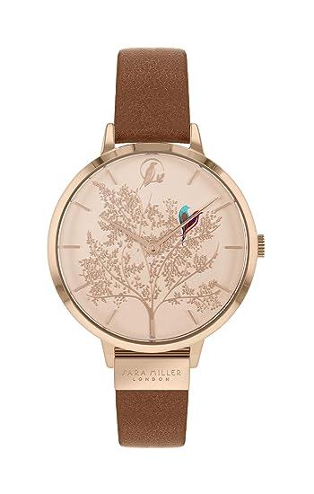 Sara Miller Chelsea Collection SA2018 - Reloj de Pulsera (bañado en Oro Rosa, Correa