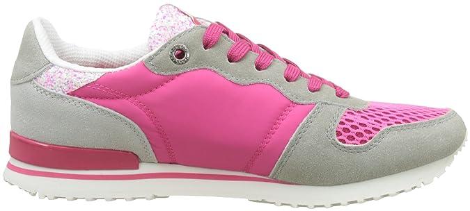 Pepe Jeans London Gable Tongue, Sneakers Basses Femme, (Disco Pink), 40 EU
