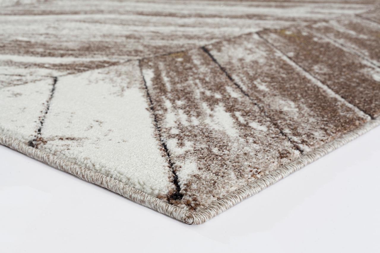 6057 Beige Trellis 5'2x7'2 Area Rug Carpet Large New