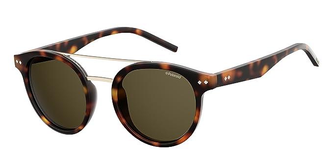 43dae71dfc9 Polaroid PLD 6031 S SP N9P 49 Montures de lunettes Marron (Matt Havana