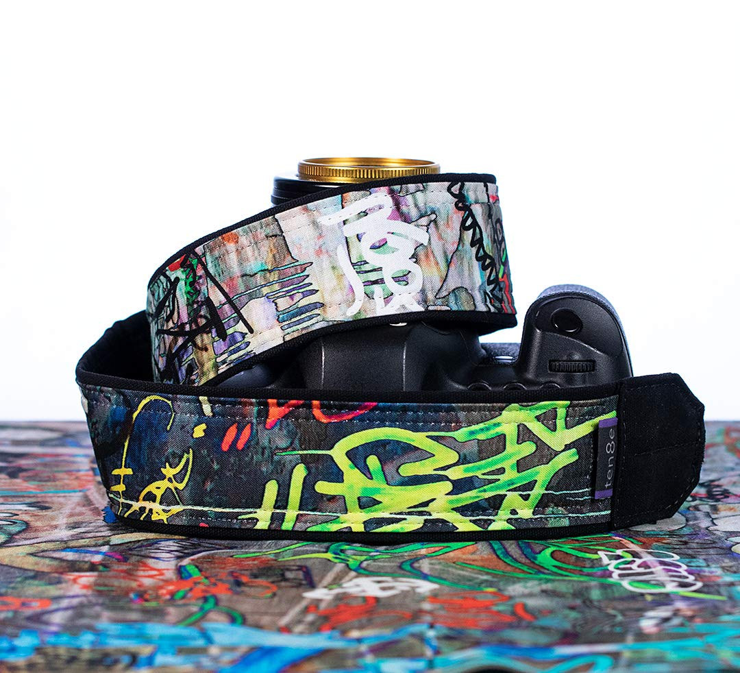 Camera Strap, Graffiti 312, dSLR SLR Mirrorless