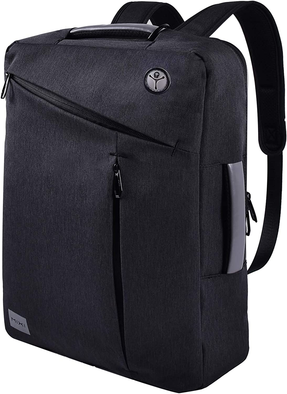 15.6 inch Laptop Backpack Bag Convertible Business Backpack Briefcase Messenger Bag