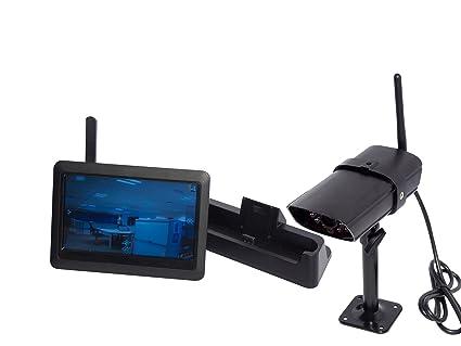 Chacon 34540 - Cámara de vigilancia color Negro