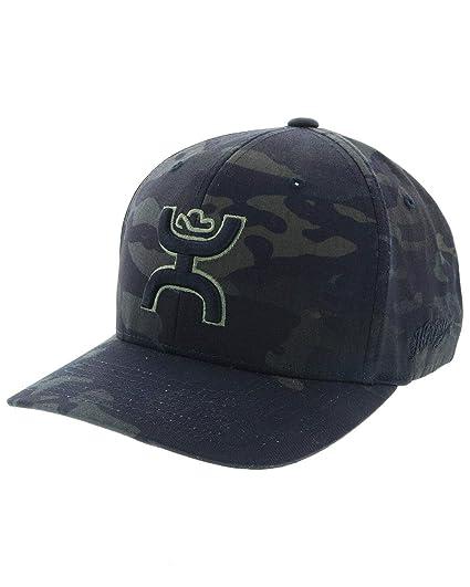 huge selection of 1fbeb 82c13 HOOey Chris Kyle Camo Flexfit Green Logo Hat S M