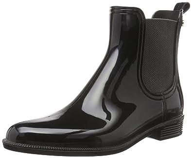 a688a7c95b59c8 Tommy Hilfiger Damen O1285DETTE 6R Chelsea Boots