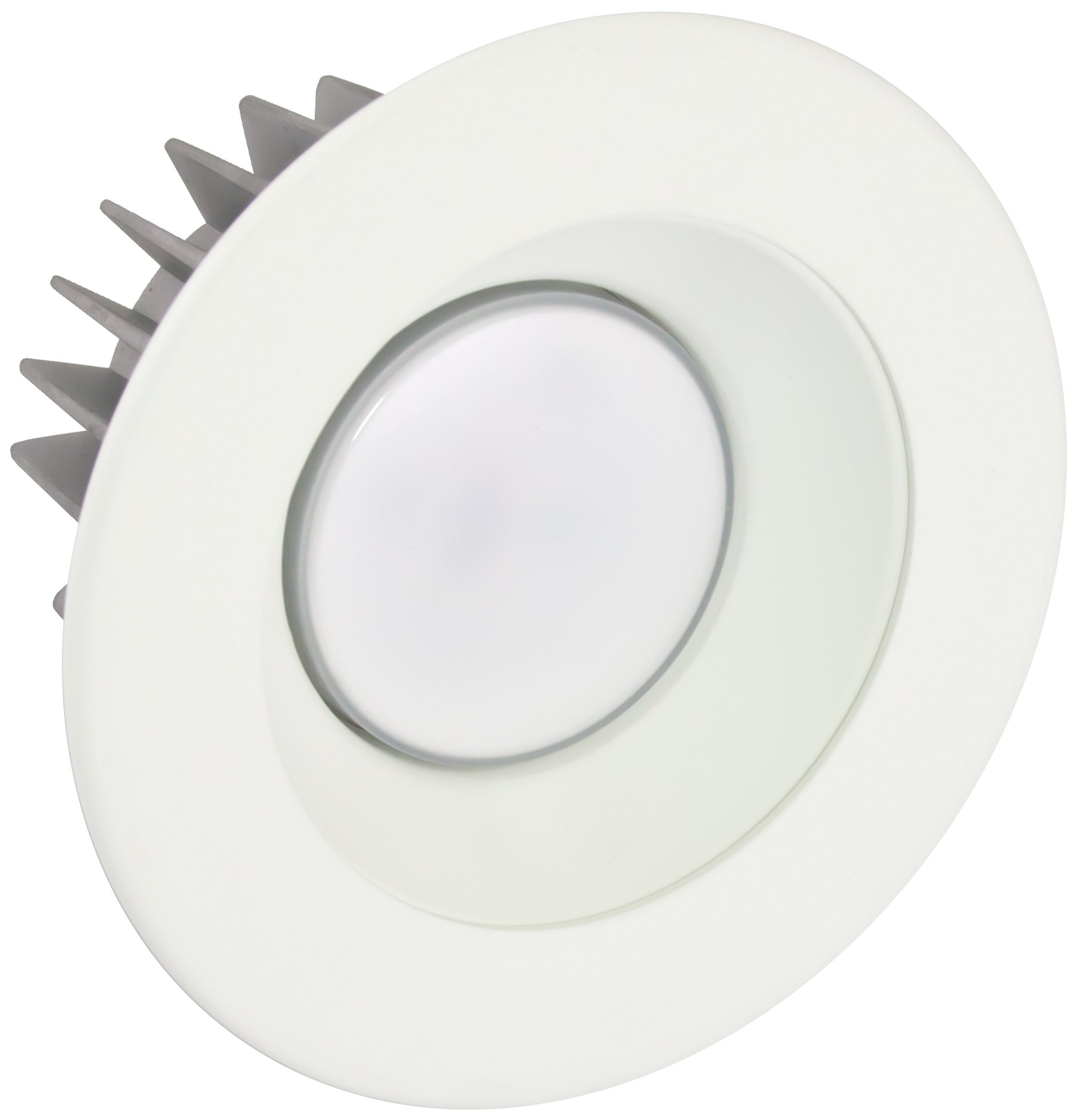 American Lighting X4-WHM-WH-X45 4-Inch Downlight X45 Series Trim Kit with White Multiplier, White